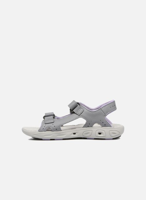 Sandals Columbia Childrens Techs Grey front view