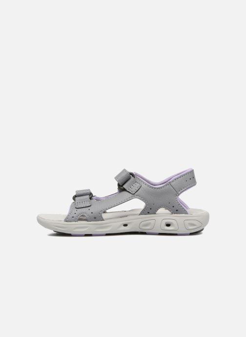 Sandales et nu-pieds Columbia Childrens Techs Gris vue face