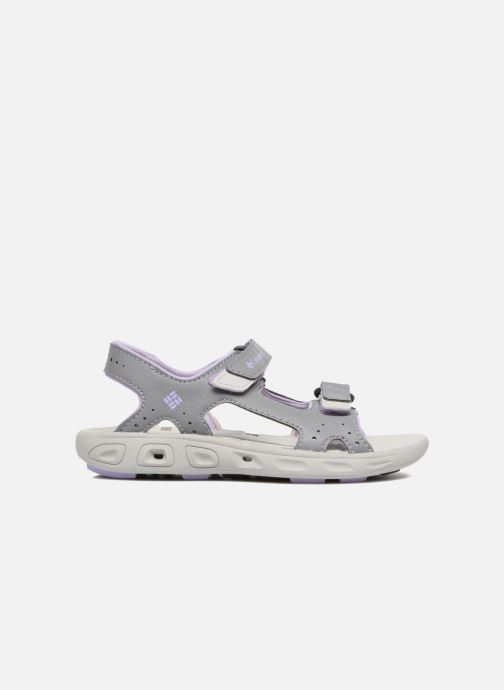 Sandals Columbia Childrens Techs Grey back view