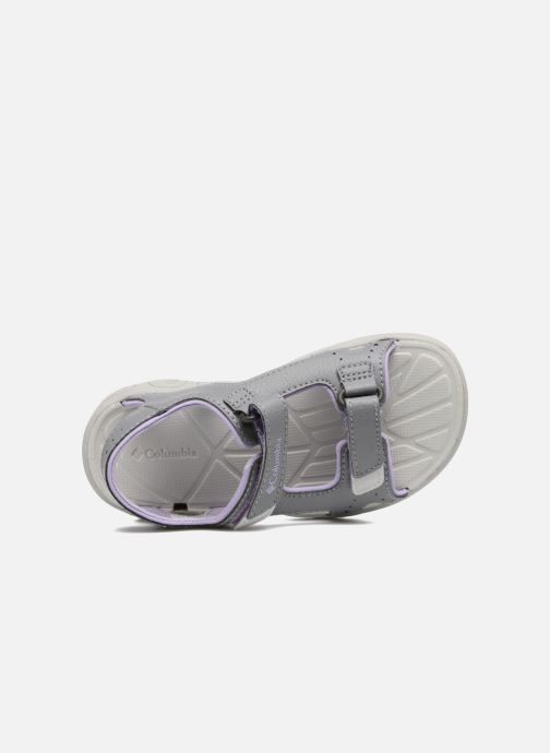 Sandals Columbia Childrens Techs Grey view from the left