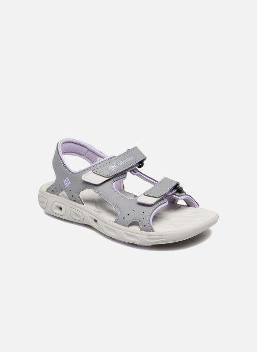 Sandals Columbia Childrens Techs Grey detailed view/ Pair view