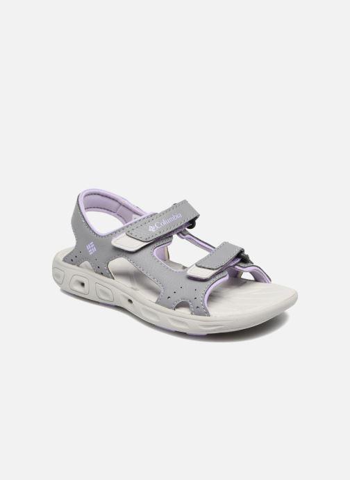 Sandales et nu-pieds Columbia Childrens Techs Gris vue détail/paire