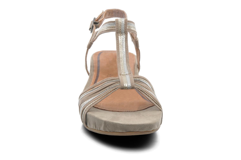 Sandales et nu-pieds Tamaris Khloé Gris vue portées chaussures