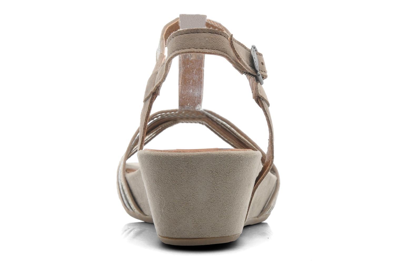 Sandales et nu-pieds Tamaris Khloé Gris vue droite