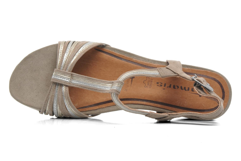 Sandales et nu-pieds Tamaris Khloé Gris vue gauche