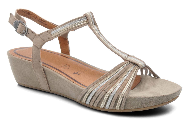 Sandales et nu-pieds Tamaris Khloé Gris vue détail/paire