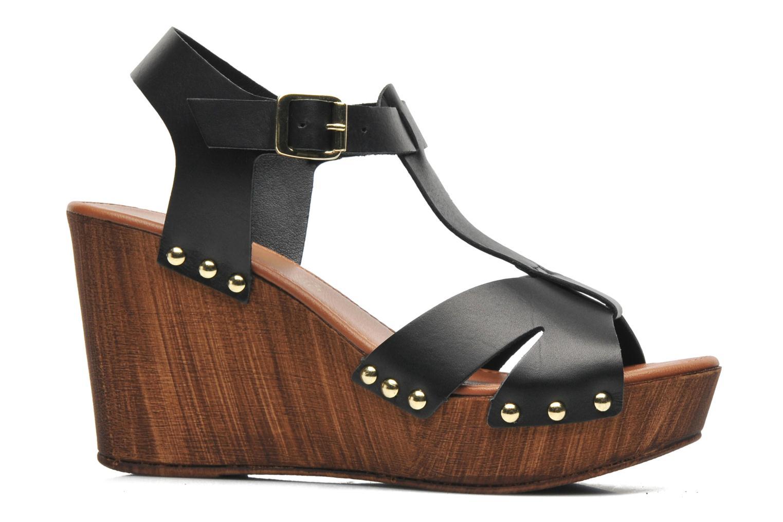 Sandales et nu-pieds Tamaris Sonna Noir vue derrière