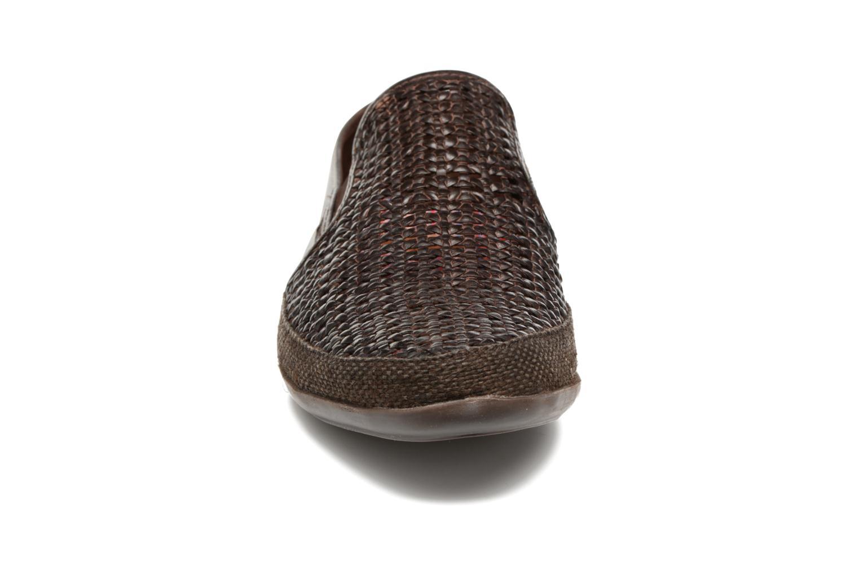 Mocassins Base London Stage Marron vue portées chaussures