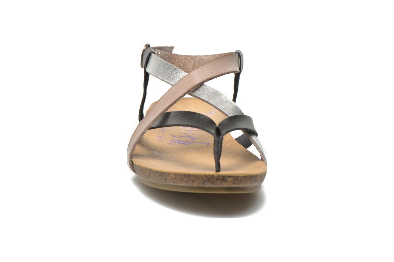 Sandales et nu-pieds Blowfish Granola Multicolore vue portées chaussures