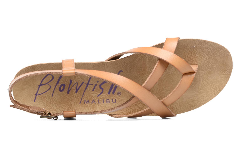 Sandales et nu-pieds Blowfish Granola Marron vue gauche