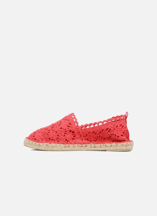 Espadrilles Colors of California Lara Rood voorkant