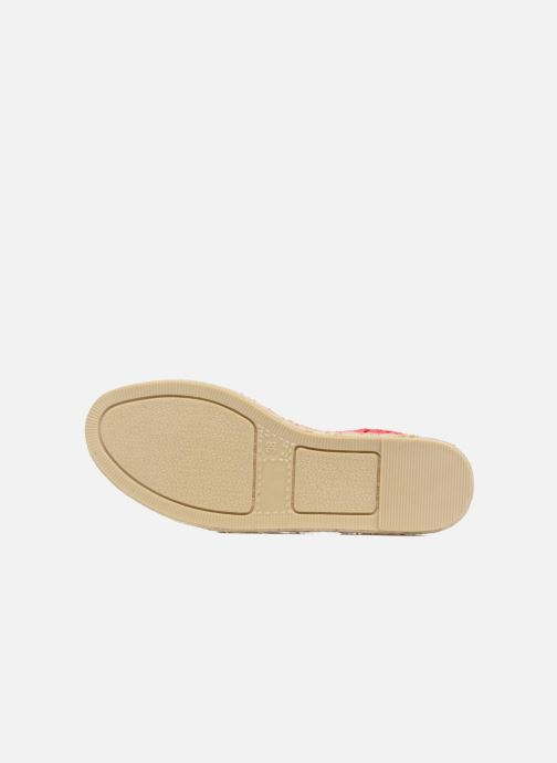 Espadrilles Colors of California Lara Rood boven