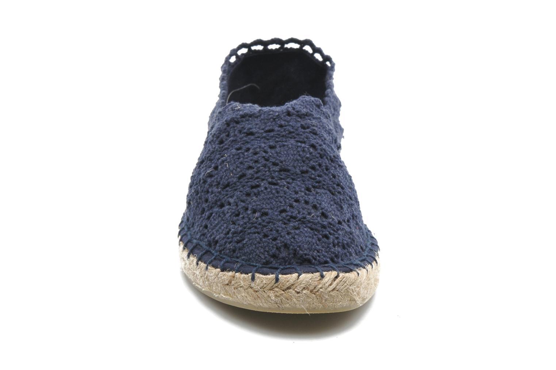 Espadrilles Colors of California Lara Bleu vue portées chaussures