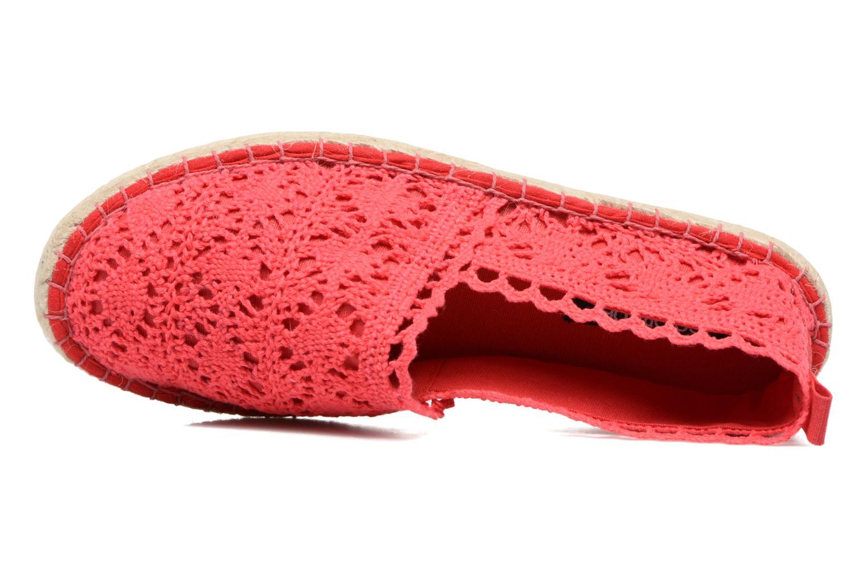Espadrilles Colors of California Lara Rouge vue gauche