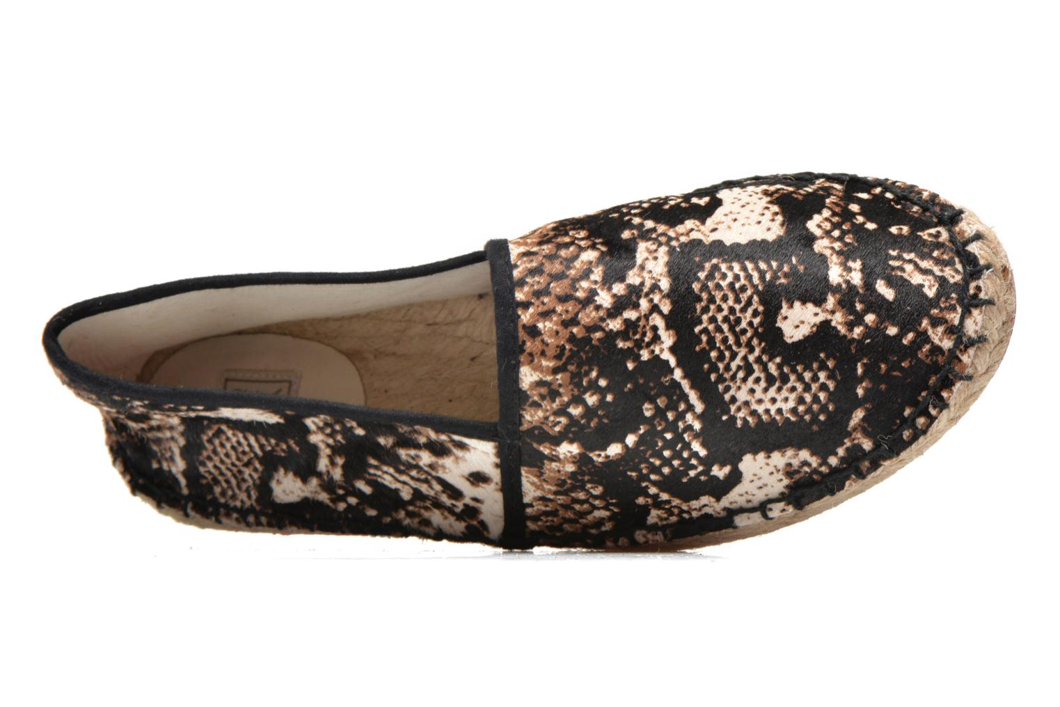 Espadrilles Colors of California Lucy Multicolore vue gauche