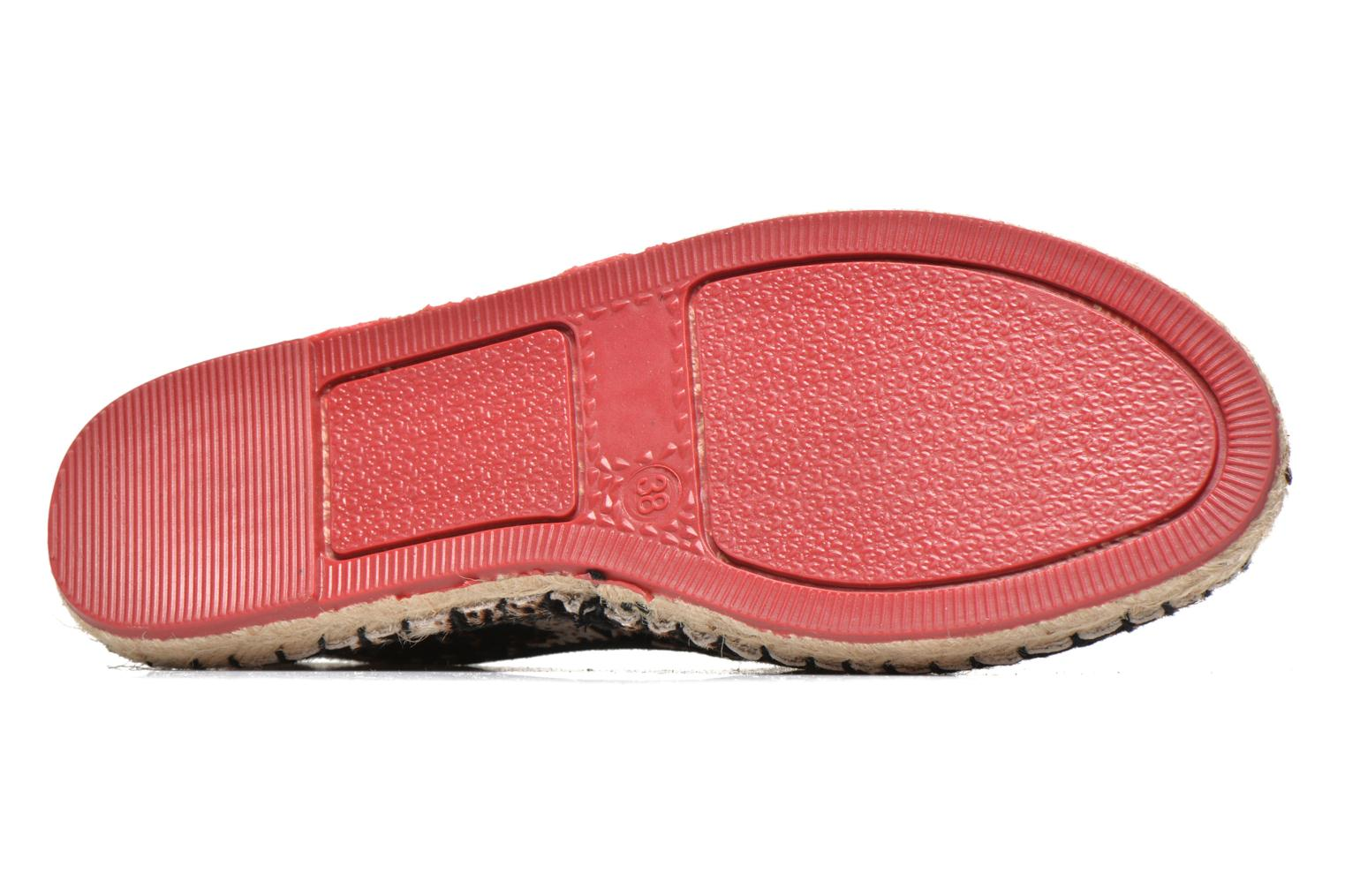 Espadrilles Colors of California Lucy Multicolore vue haut