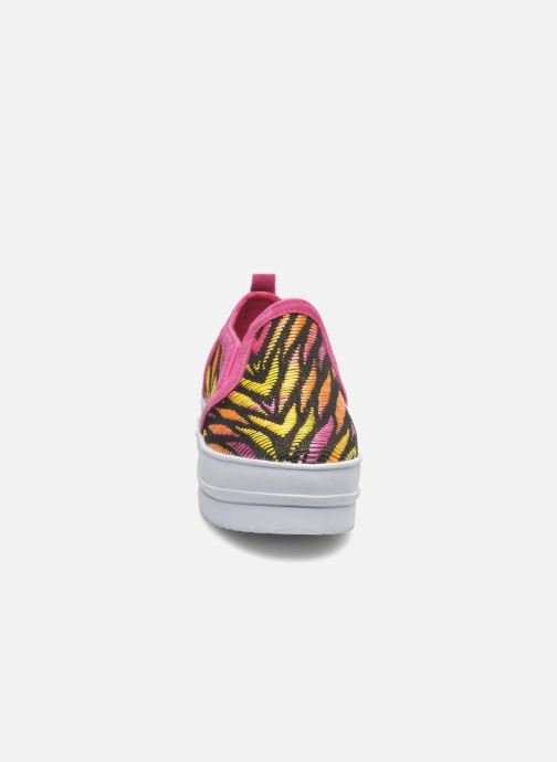 Baskets Colors of California Bloom Rose vue portées chaussures
