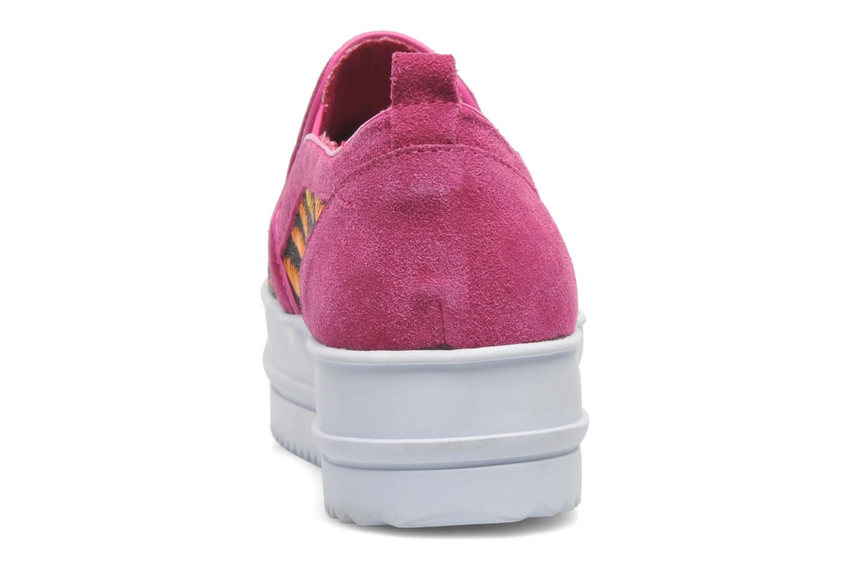Sneakers Colors of California Bloom Roze rechts