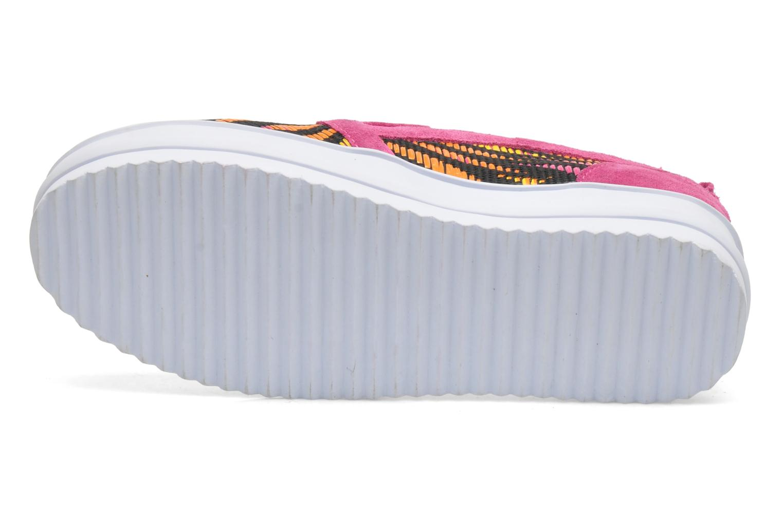 Sneakers Colors of California Bloom Roze boven