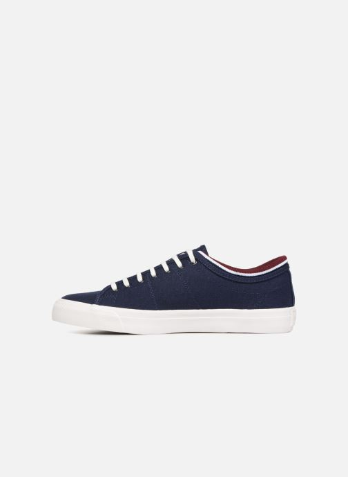 Baskets Fred Perry Kendrick Tipped Cuff Canvas Bleu vue face