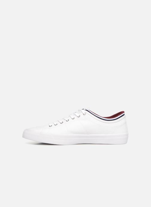 Baskets Fred Perry Kendrick Tipped Cuff Canvas Blanc vue face