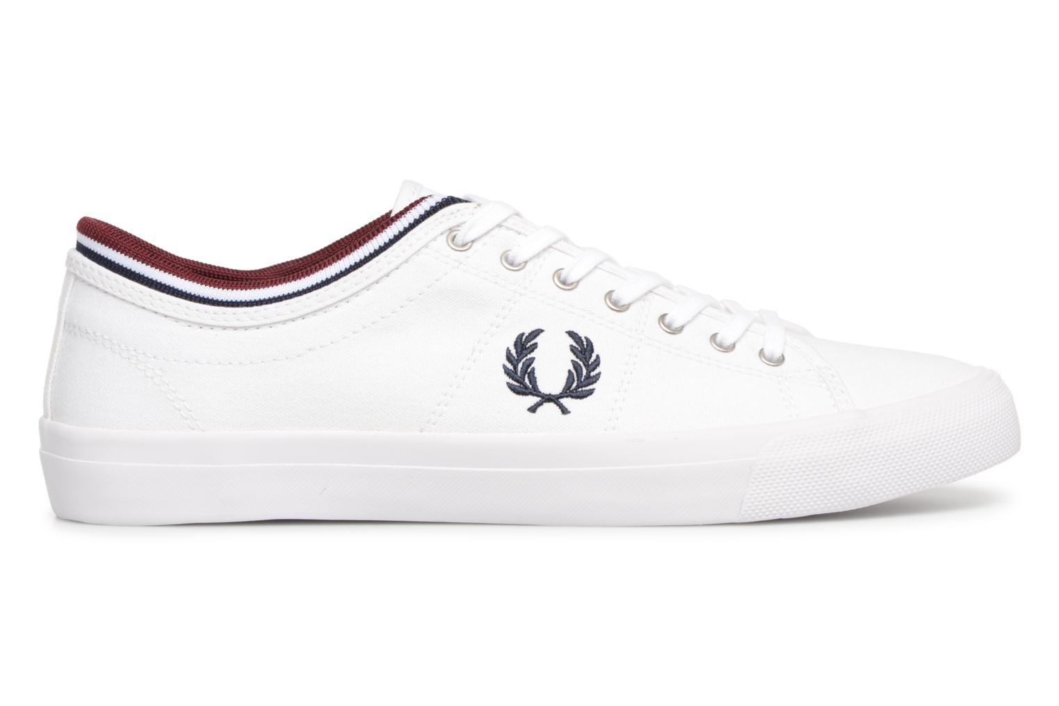 Baskets Fred Perry Kendrick Tipped Cuff Canvas Blanc vue derrière