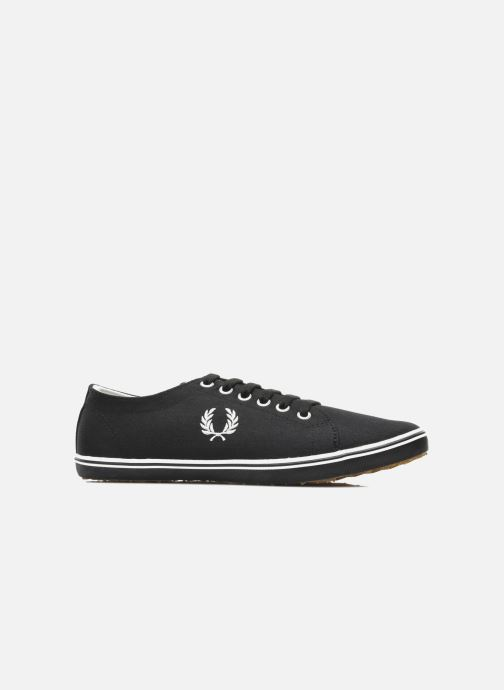 Sneakers Fred Perry Kingston Twill Zwart achterkant