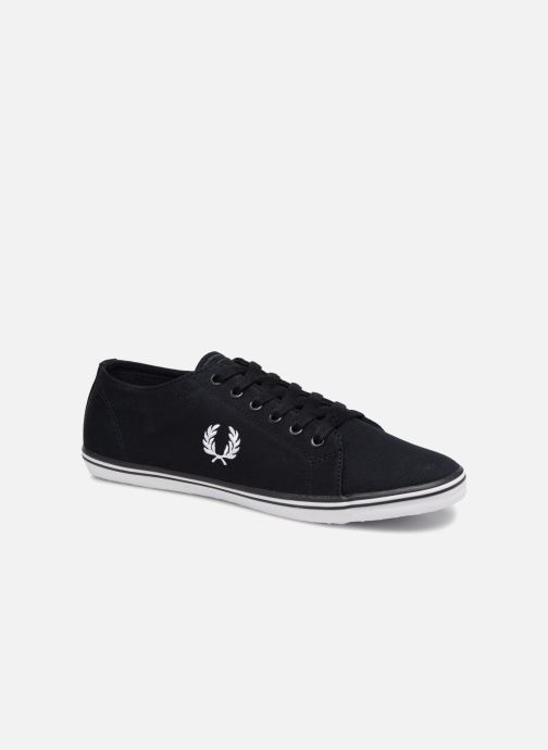 Sneakers Fred Perry Kingston Twill Blauw detail
