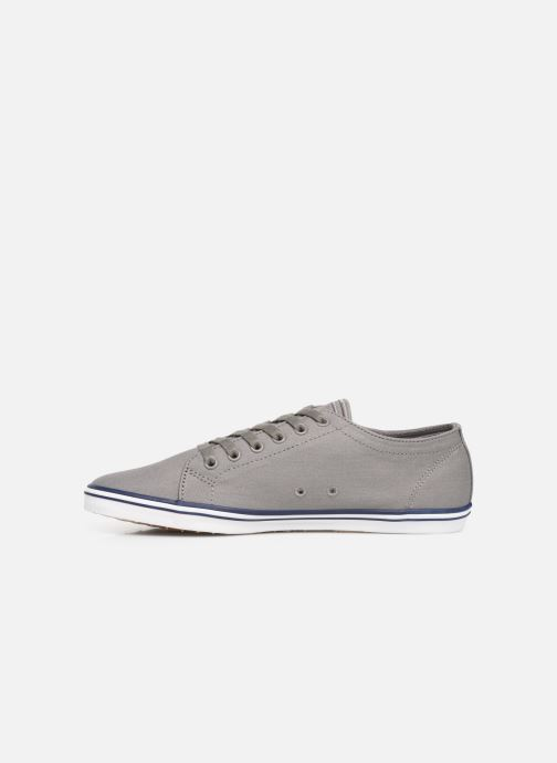 Baskets Fred Perry Kingston Twill Gris vue face