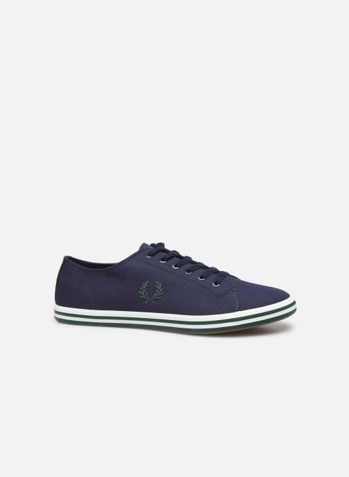 Baskets Fred Perry Kingston Twill Bleu vue derrière
