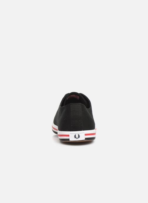 Sneakers Fred Perry Kingston Twill Zwart rechts