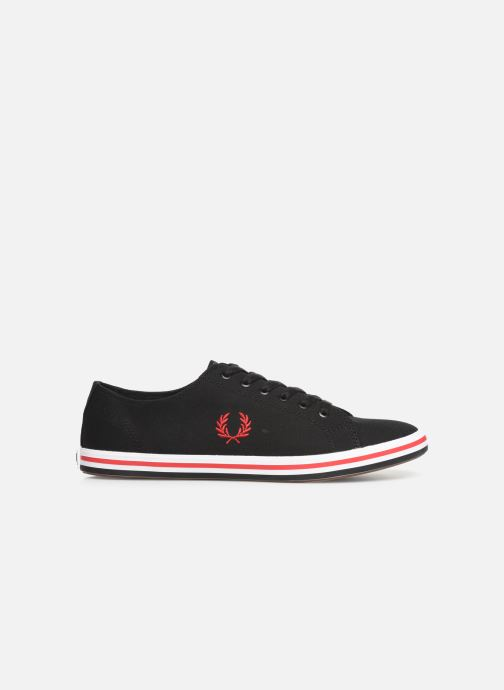 Sneakers Fred Perry Kingston Twill Zwart achterkant