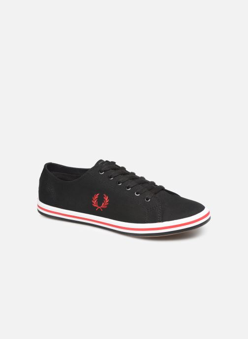 Baskets Fred Perry Kingston Twill Noir vue détail/paire