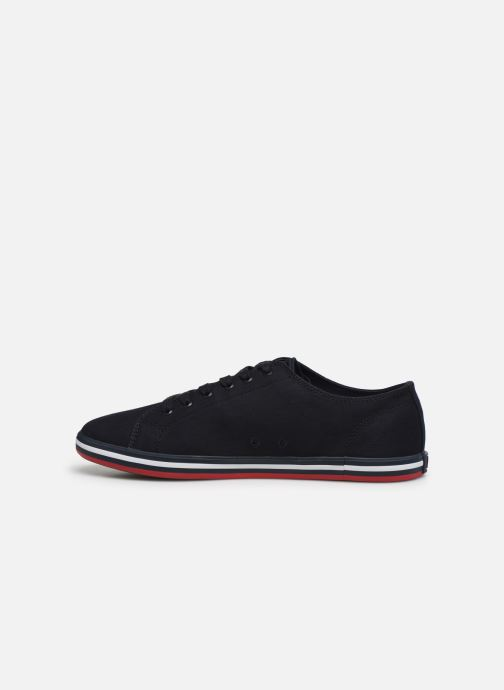 Baskets Fred Perry Kingston Twill Noir vue face