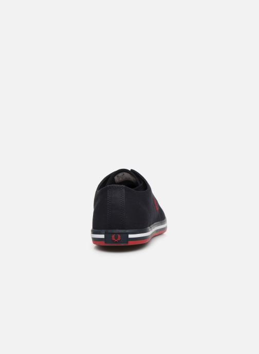 Baskets Fred Perry Kingston Twill Noir vue droite