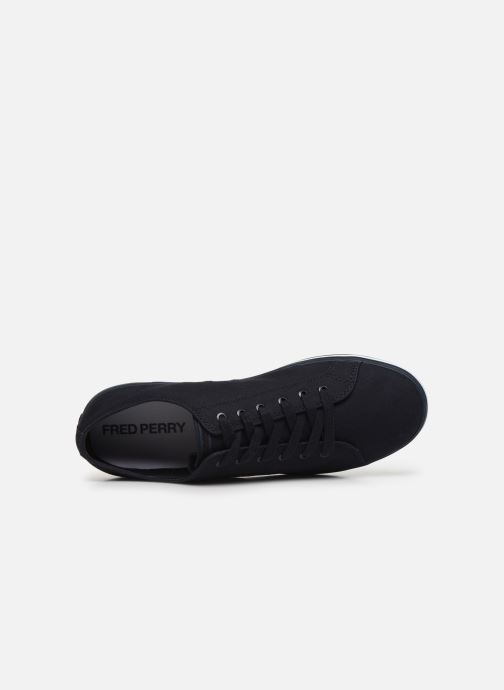 Baskets Fred Perry Kingston Twill Noir vue gauche