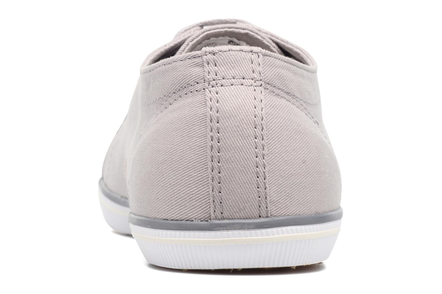 Baskets Fred Perry Kingston Twill Gris vue droite