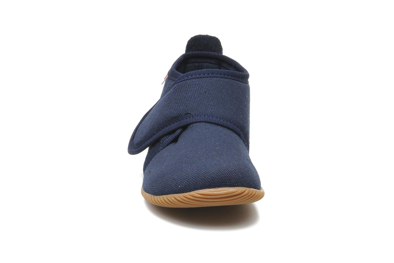 Pantoffels Giesswein Strass Slim Fit Blauw model