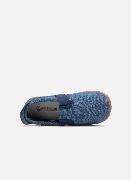 Slippers Giesswein Söll Slim Fit Blue view from the left