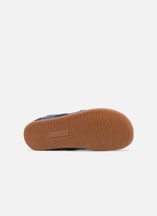 Slippers Giesswein Söll Slim Fit Blue view from above