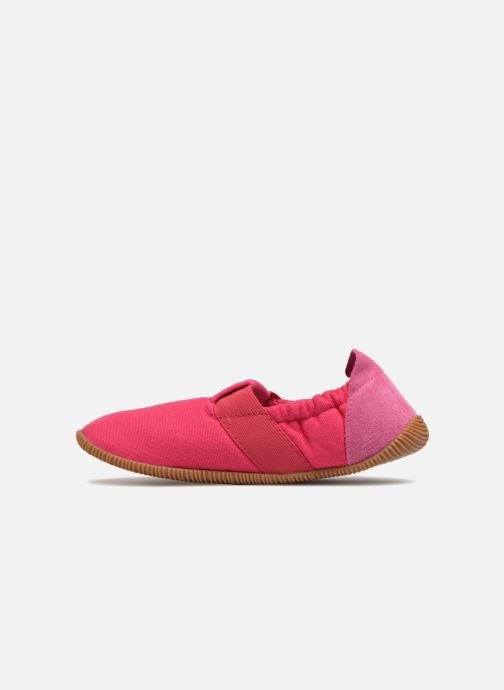 Chaussons Giesswein Söll Slim Fit Rose vue face