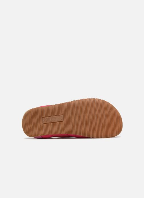 Slippers Giesswein Söll Slim Fit Pink view from above
