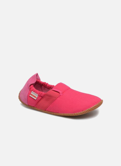 Slippers Giesswein Söll Slim Fit Pink detailed view/ Pair view
