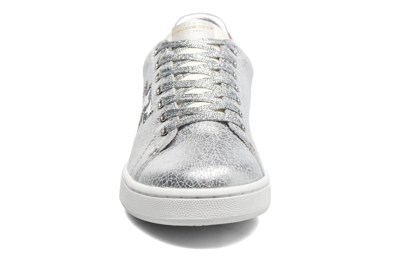 Baskets Serafini J.Connors Argent vue portées chaussures