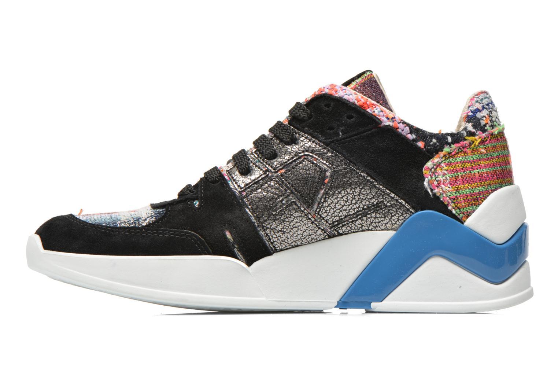 Baskets Serafini Chicago Multicolore vue face