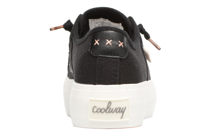Sneakers Coolway Daniela Nero immagine destra