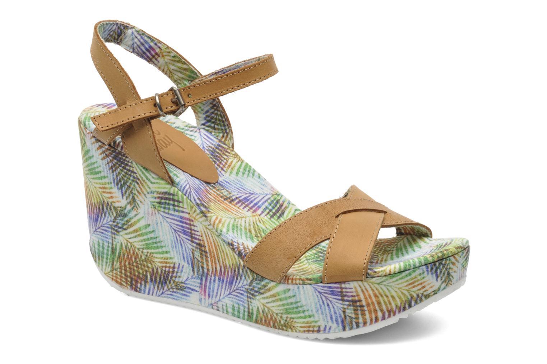 Sandales et nu-pieds Coolway Galatea Marron vue détail/paire