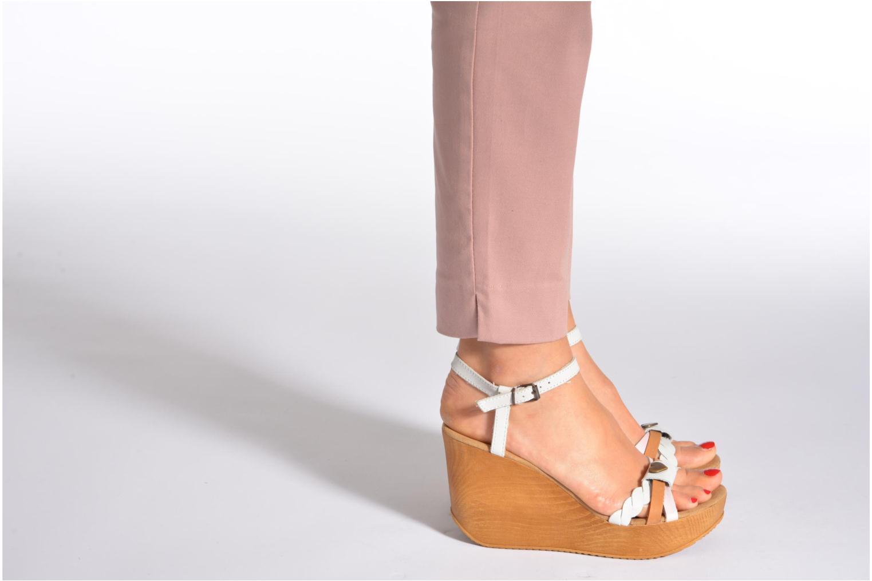Sandales et nu-pieds Coolway Gissi Multicolore vue bas / vue portée sac