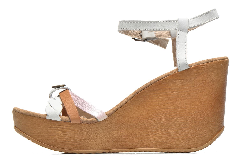 Sandales et nu-pieds Coolway Gissi Multicolore vue face