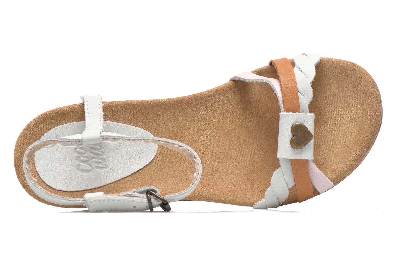 Sandales et nu-pieds Coolway Gissi Multicolore vue gauche